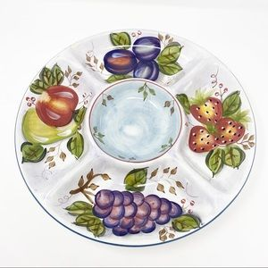 HERITAGE Mint Black Forest Fruits Dip Tray Platter